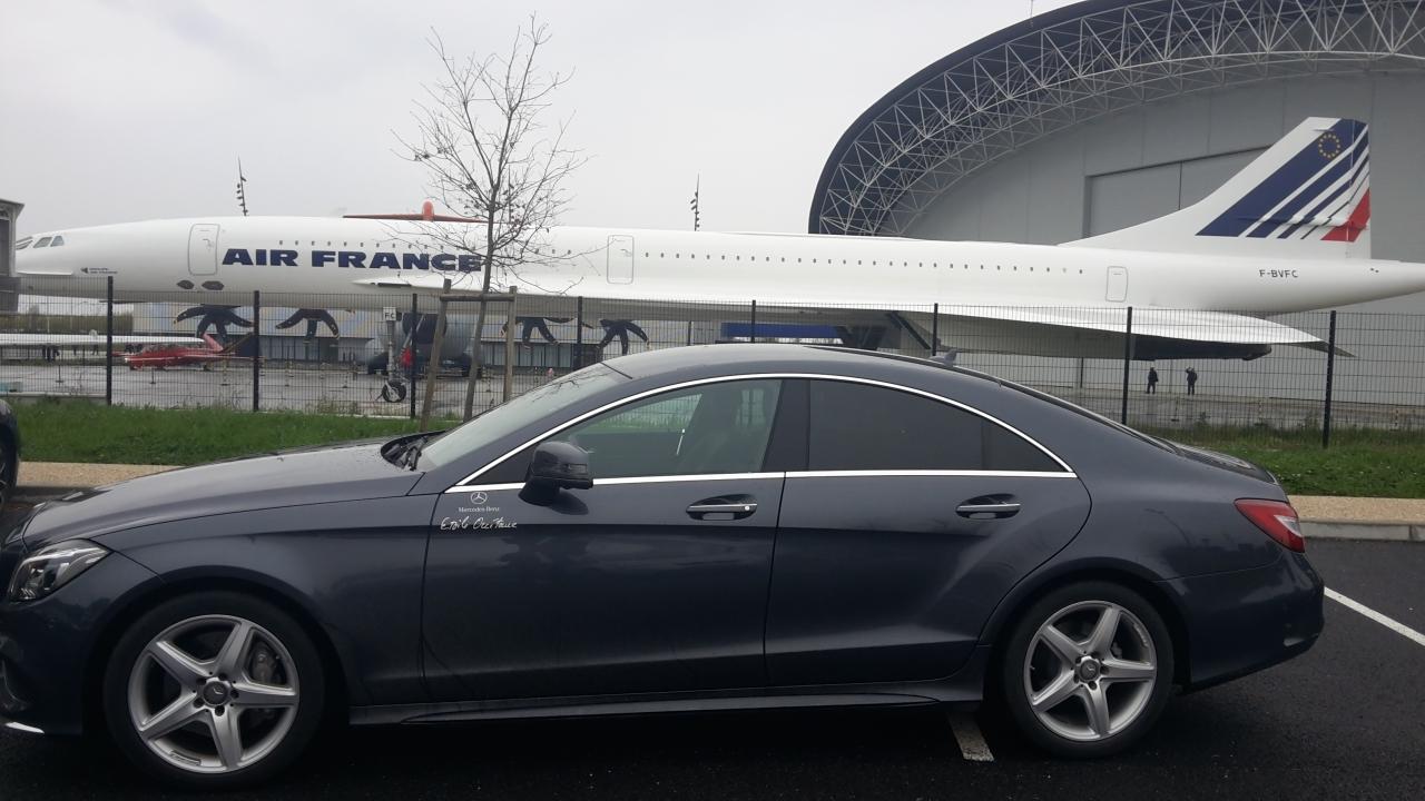 Véhicule avec Chauffeur services professionnels Toulouse Blagnac