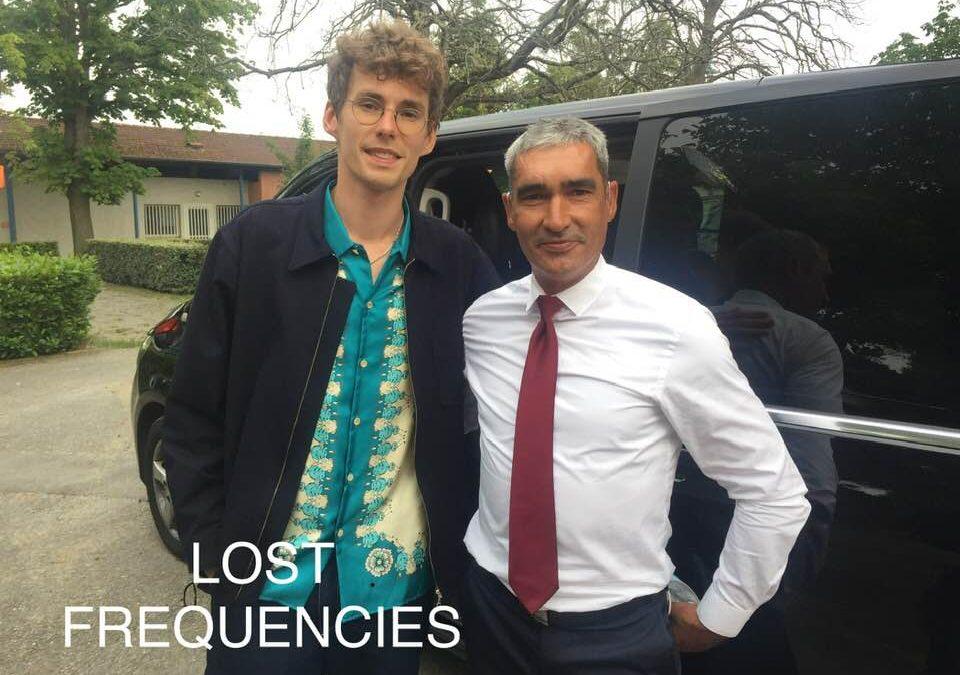 Votre chauffeur privé à Toulouse conduit le DJ LOST FREQUENCIES