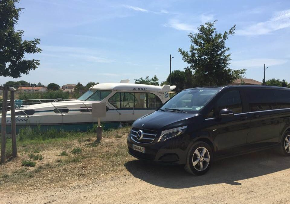 Visitors to the Canal du Midi: VTC EXCELLENCE will transfer you to your embarkation port