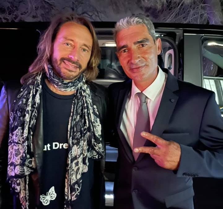 Your private driver in Toulouse drive BOB SINCLAR